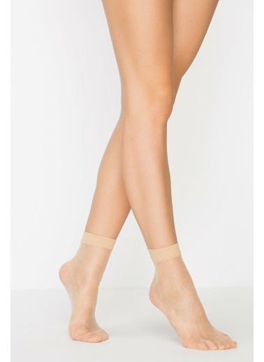 Penti Kadın Ten Rengi Fit 15 Soket 3'lü Çorap PCLP0A8A19SK Ten